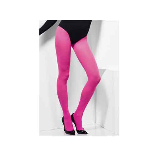 Pink Opaque Tights 1 size