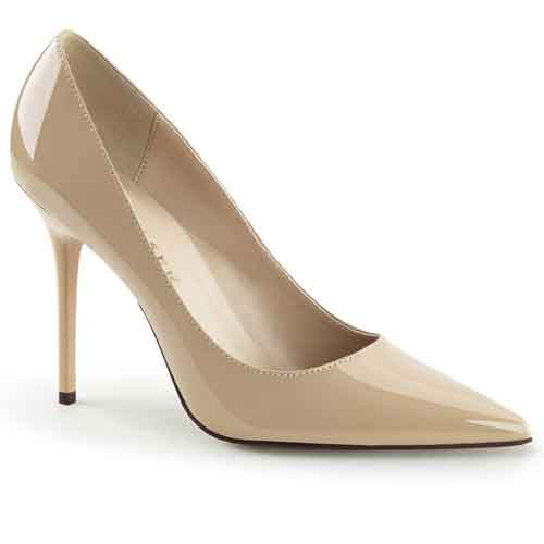 Classique-20 5 inch pointed toe court shoe
